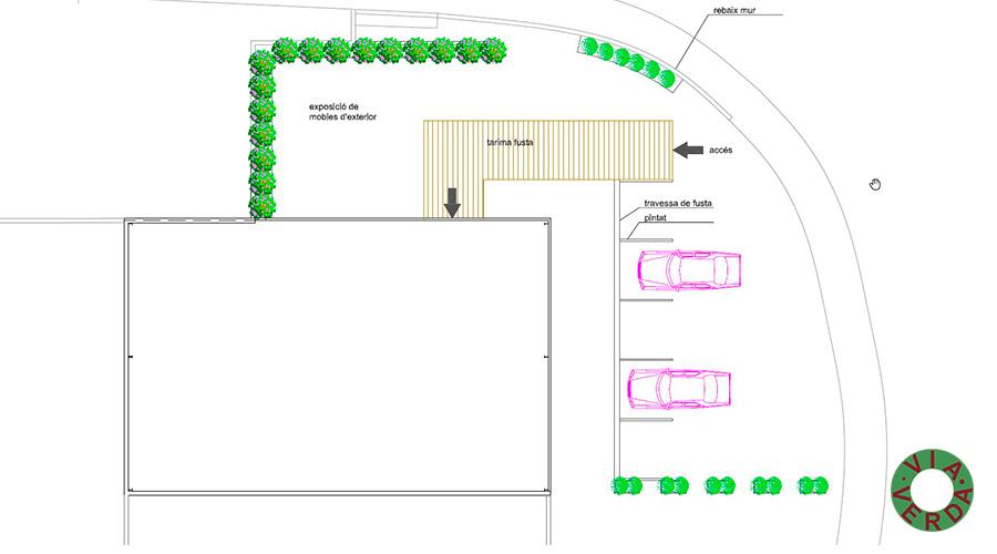 Mobles Palafrugell. Modificació Façana i activitats