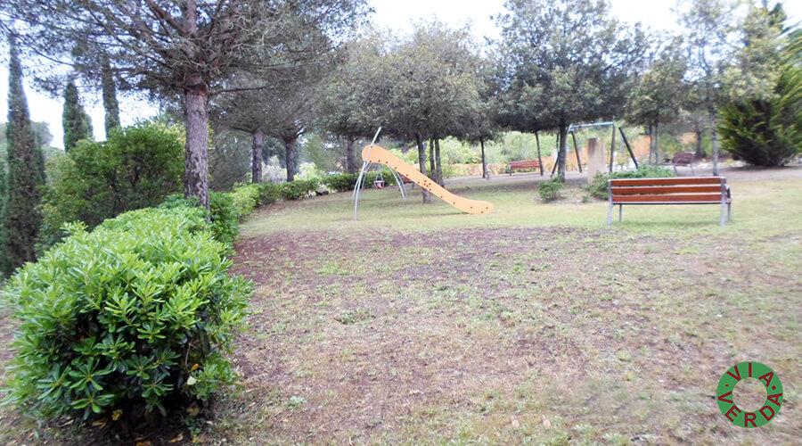 Urbanització Zona Verda Pastora. Plaça Pins