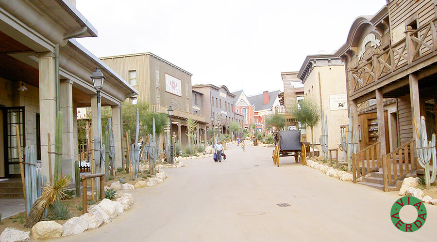 Port Aventura. Complex Hoteler Far West