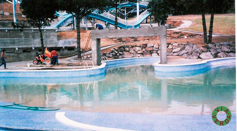 Lloret Park. Ordenació, disseny piscina, jardineria